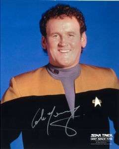 Colm Meaney, DS9, Star Trek, Law Abiding Citizen, Genuine Autograph 11117